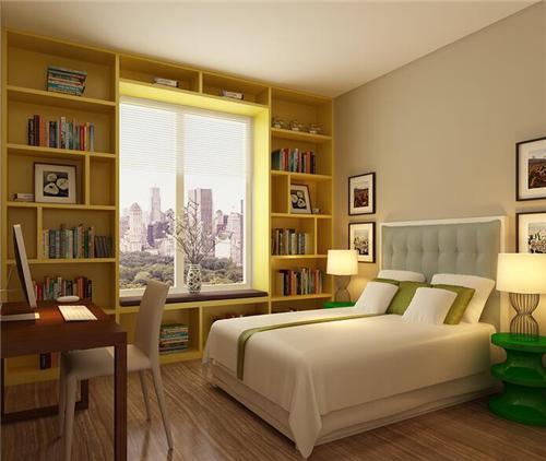 90平方房子卧室精装修案例